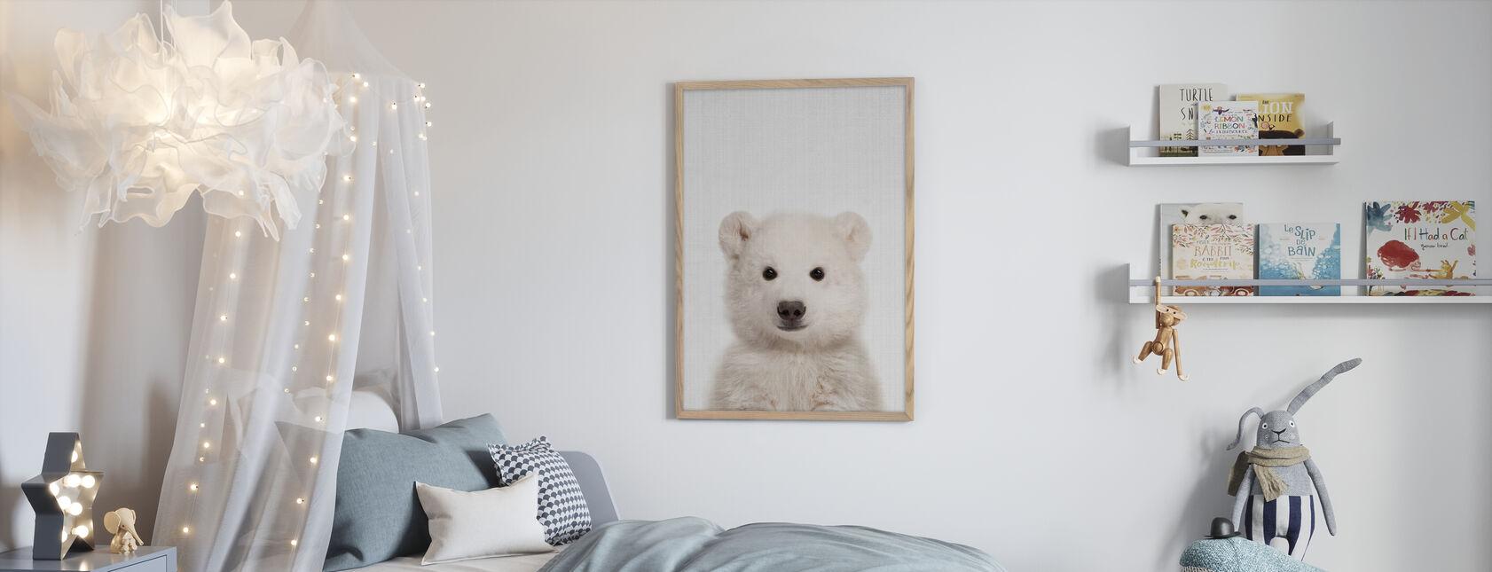 Baby Polar Bear - Poster - Kids Room