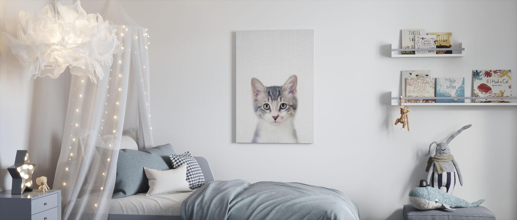 Kitten - Canvas print - Kids Room