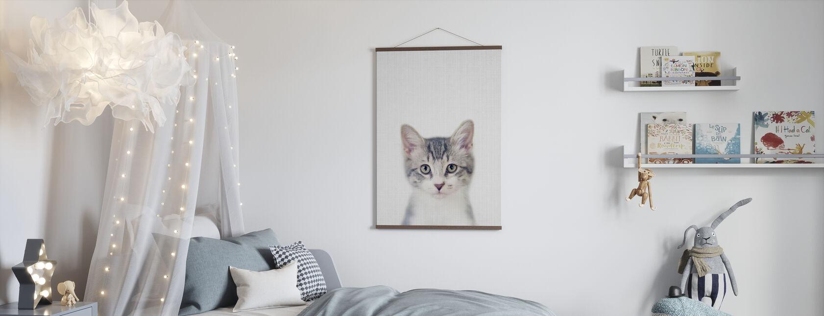 Kitten - Poster - Kids Room