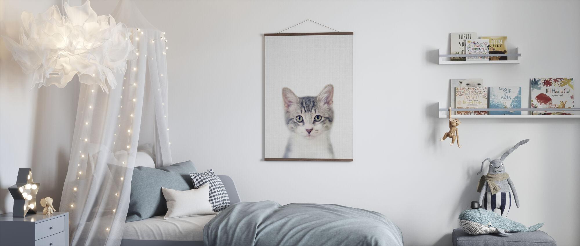 Kätzchen - Poster - Kinderzimmer