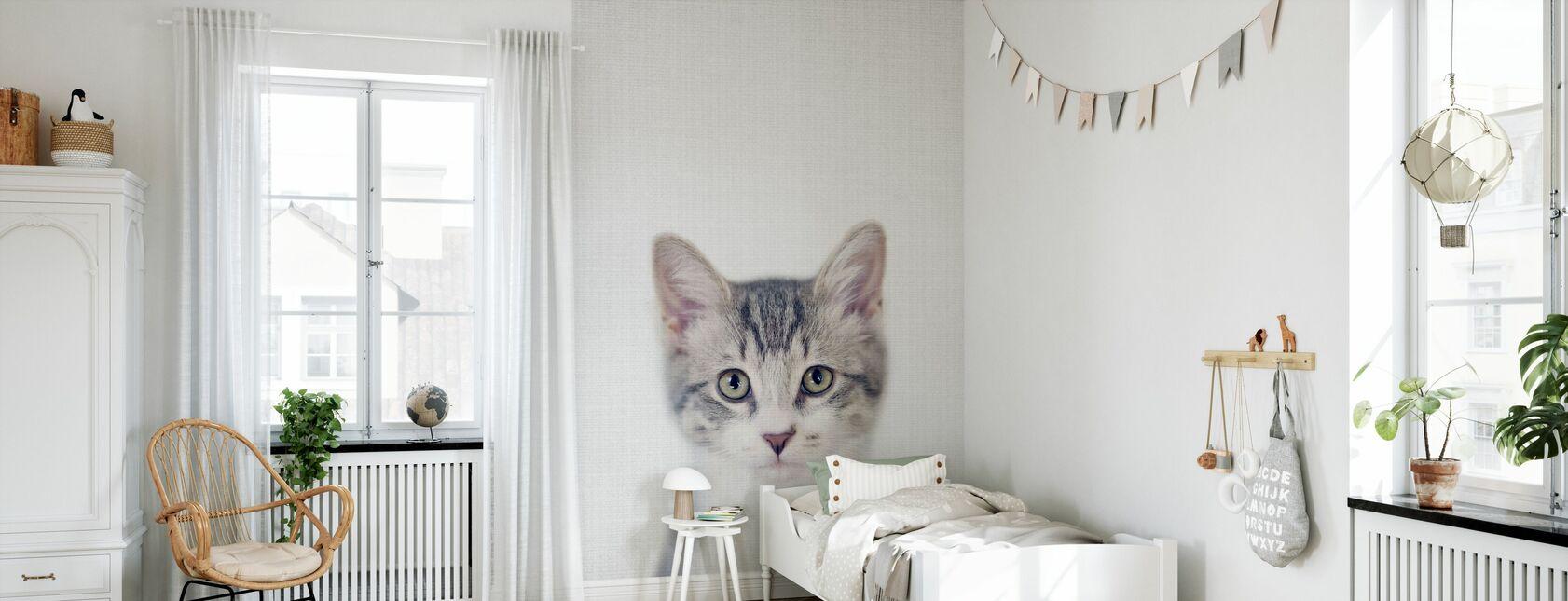 Kitten - Wallpaper - Kids Room