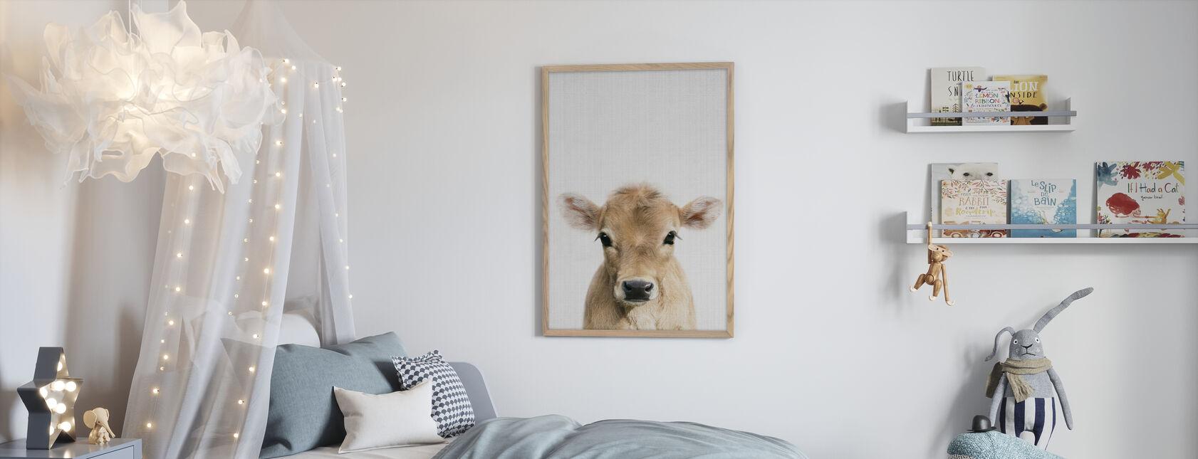 Calf - Framed print - Kids Room