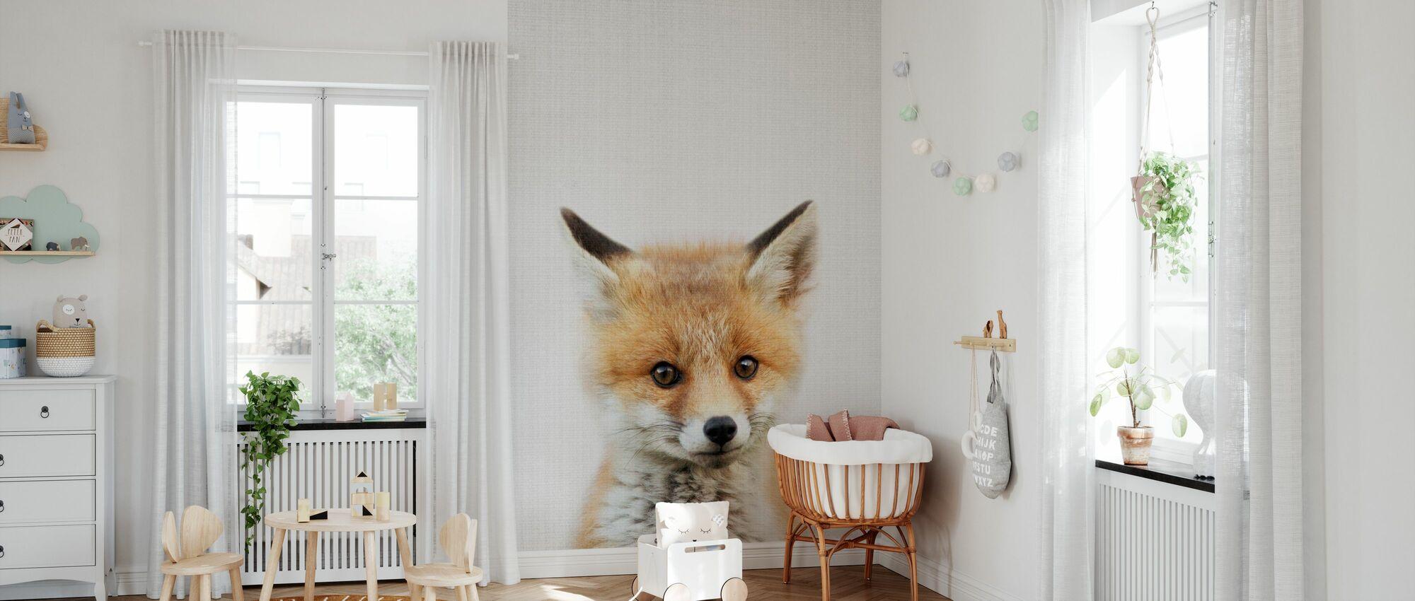 Baby Fox - Tapet - Babyrom