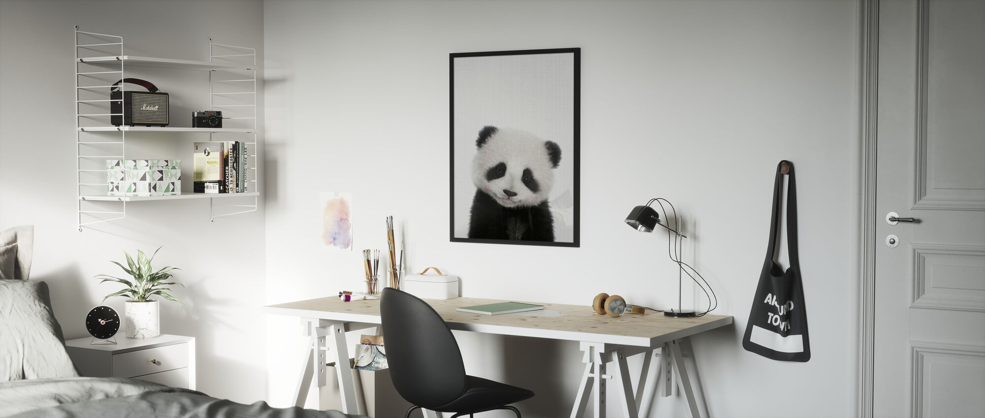 Panda - Poster - Kinderzimmer