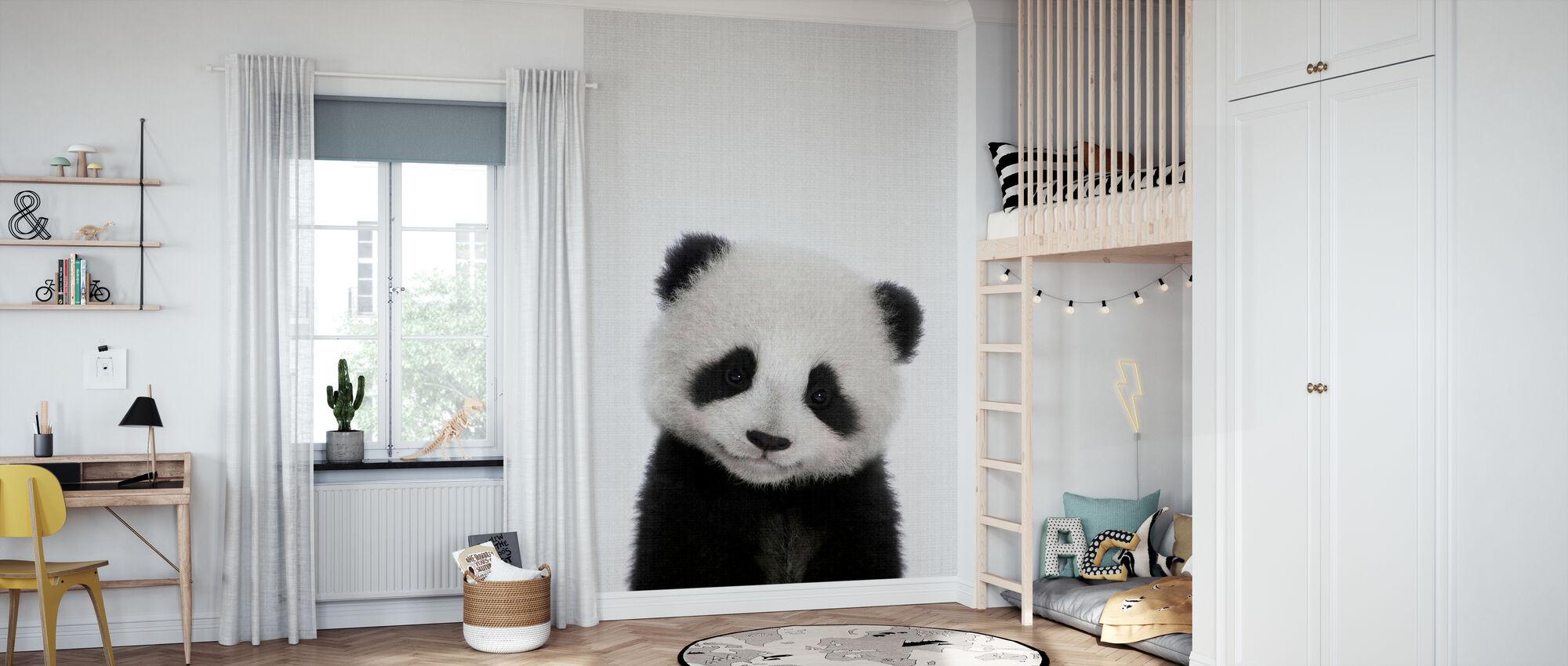 Panda - Wallpaper - Kids Room