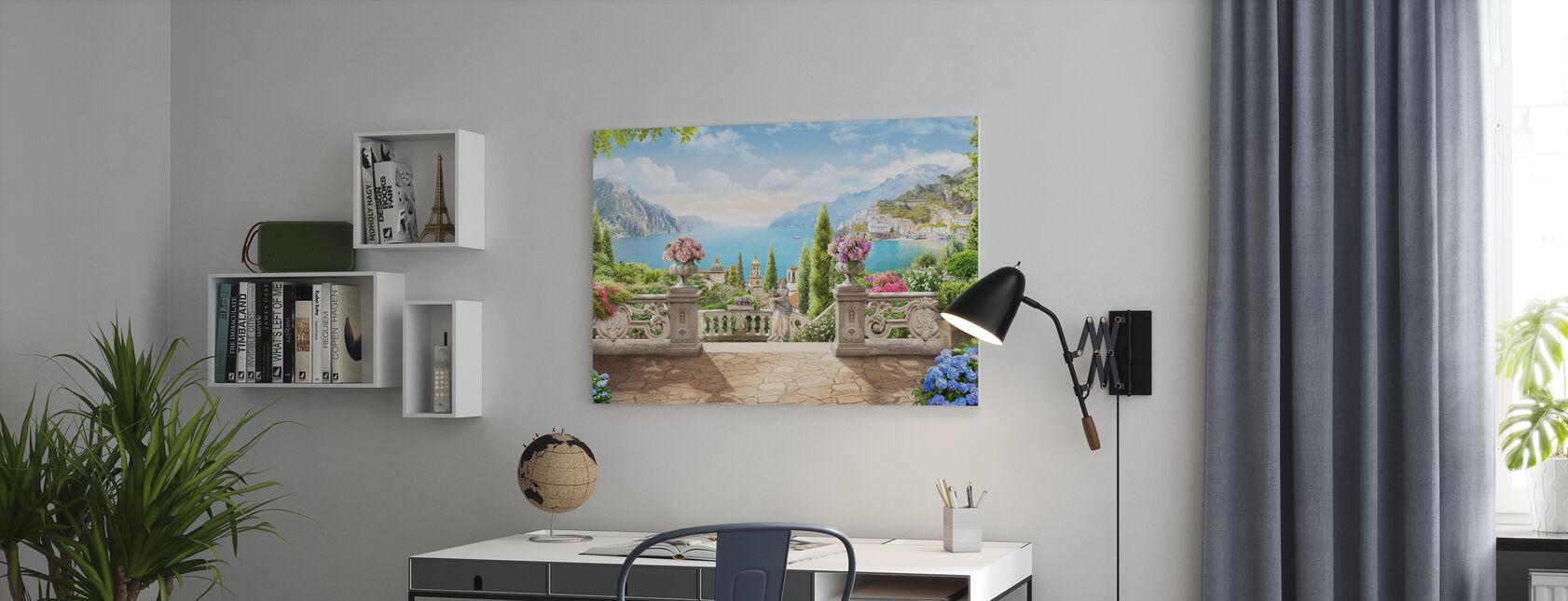 Villa del Balbianello - Canvas print - Office