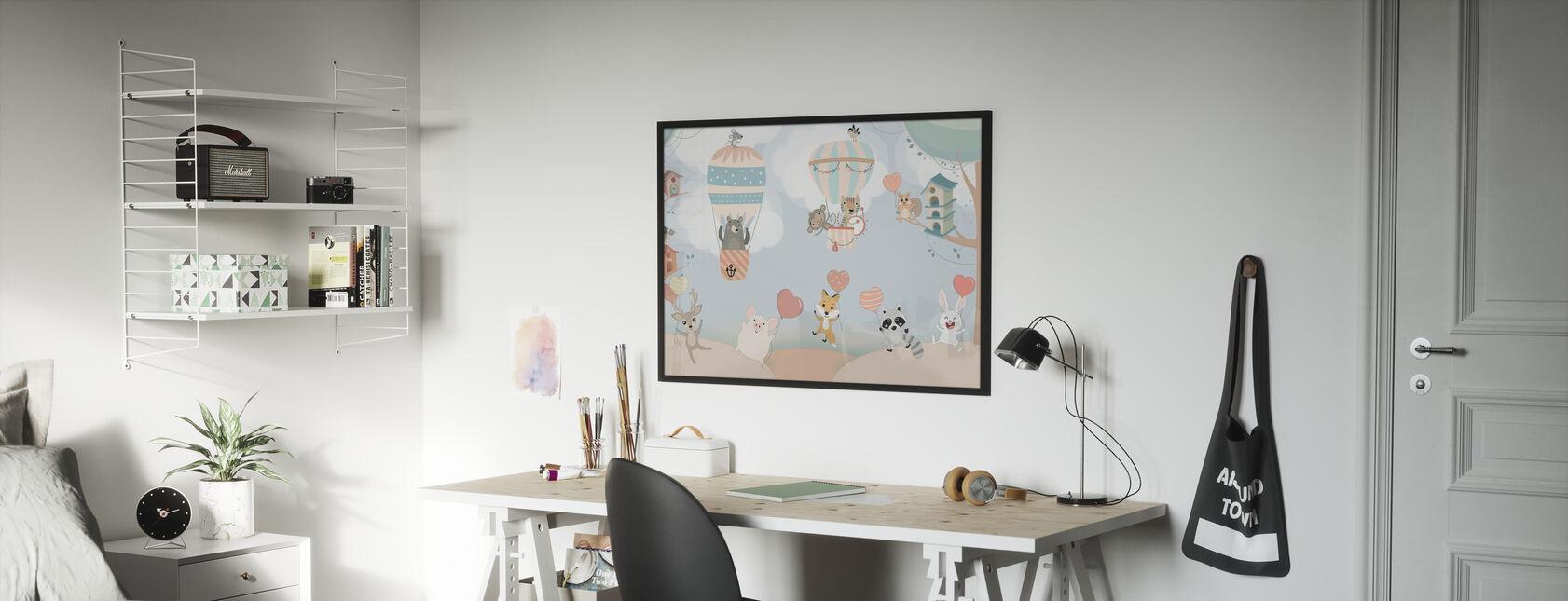 Happy Animal Buddies - Affiche - Chambre des enfants
