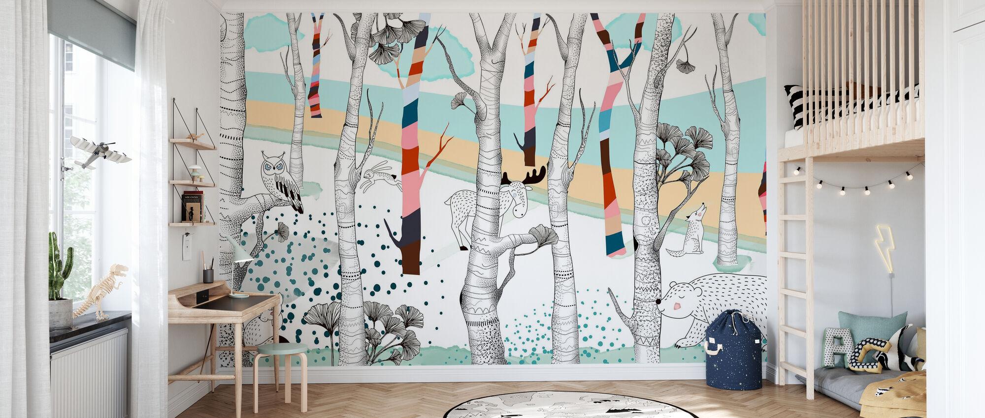 Woodland - Potpourri - Wallpaper - Kids Room