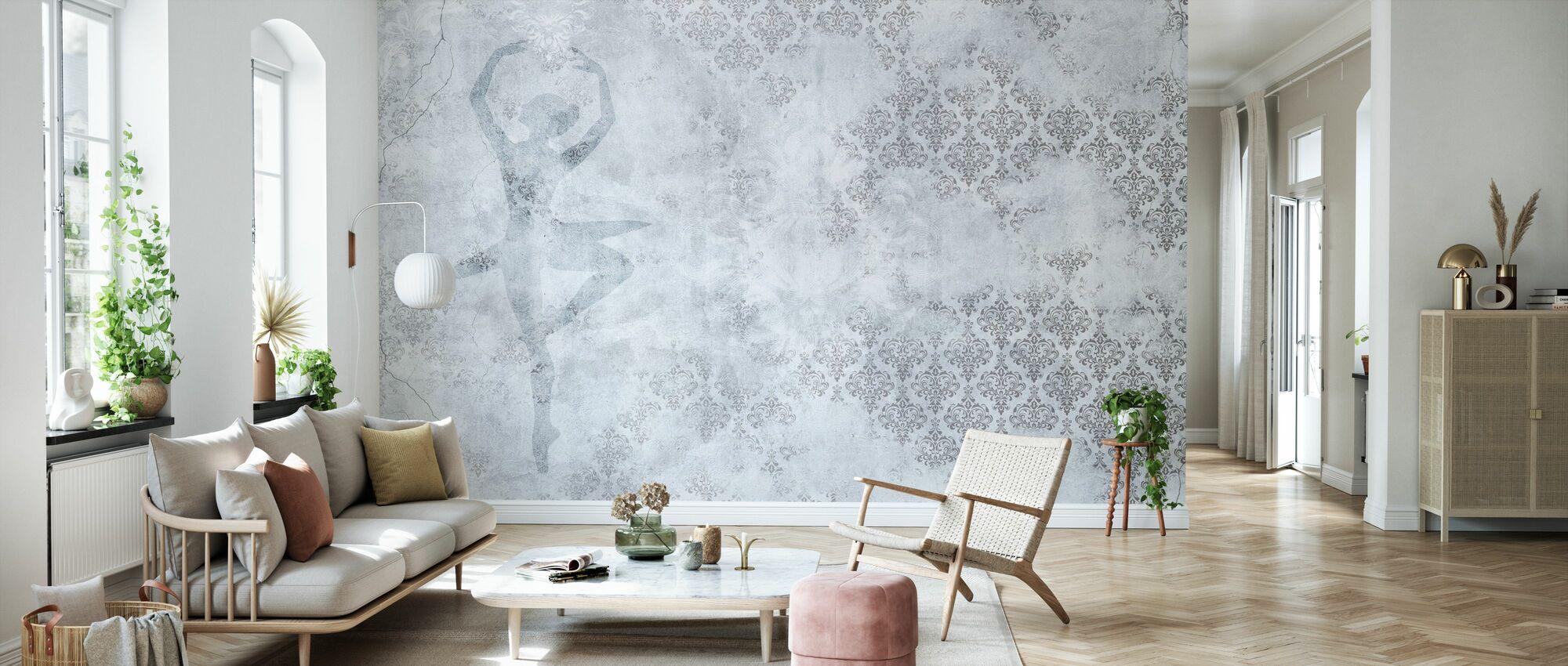 Worn Wall Dancer - Wallpaper - Living Room
