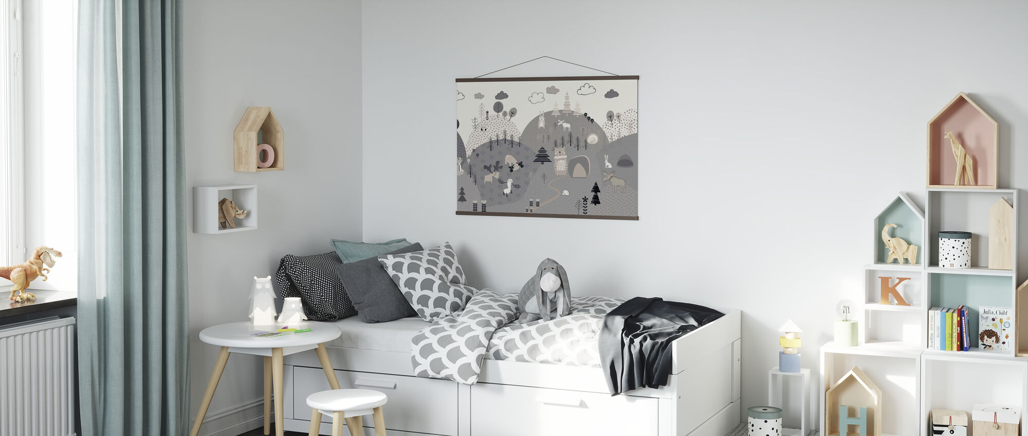 Animal Community - Poster - Kids Room