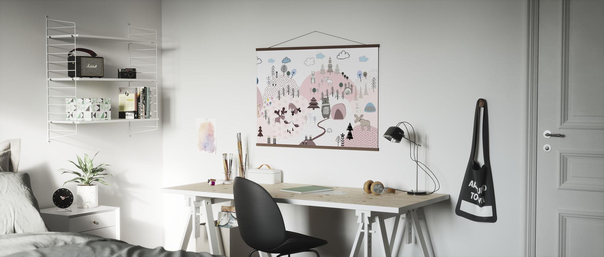 Animal Community III - Poster - Office