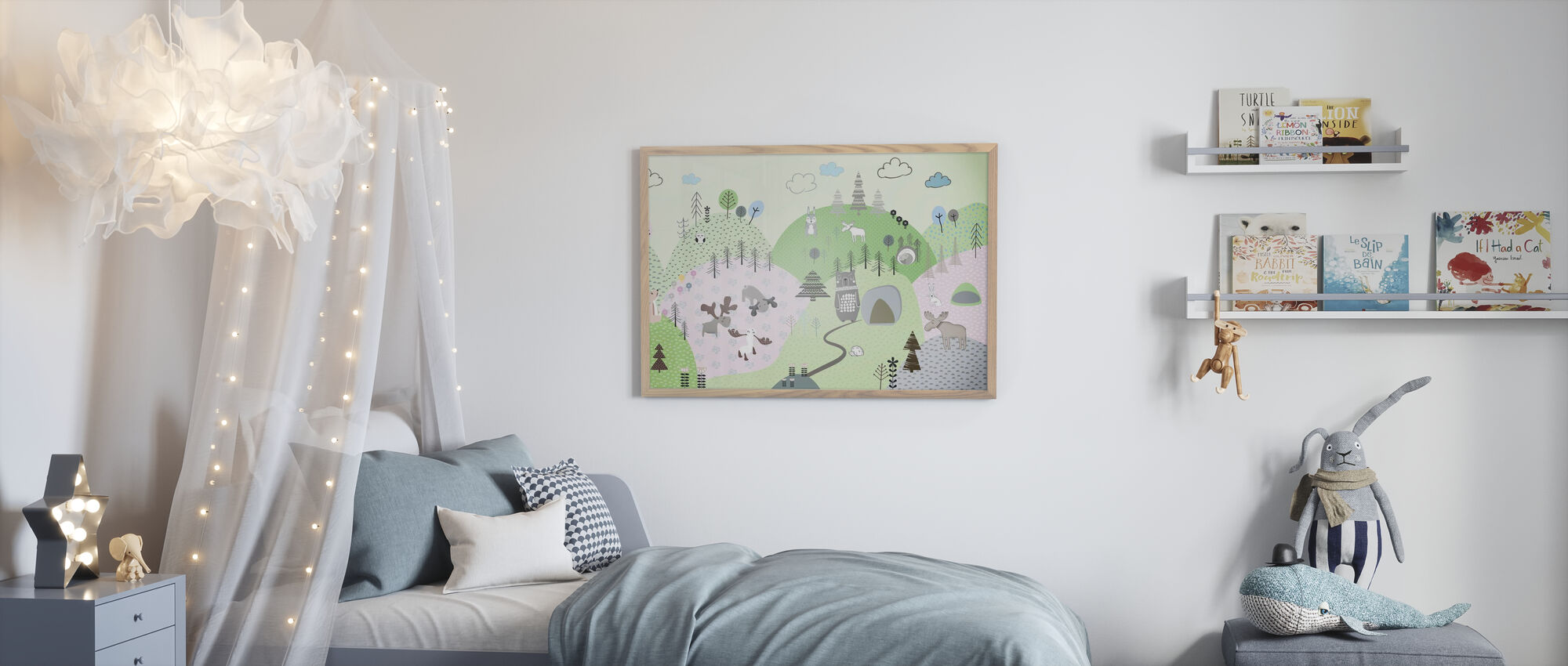 Animal Community IIII - Poster - Kids Room