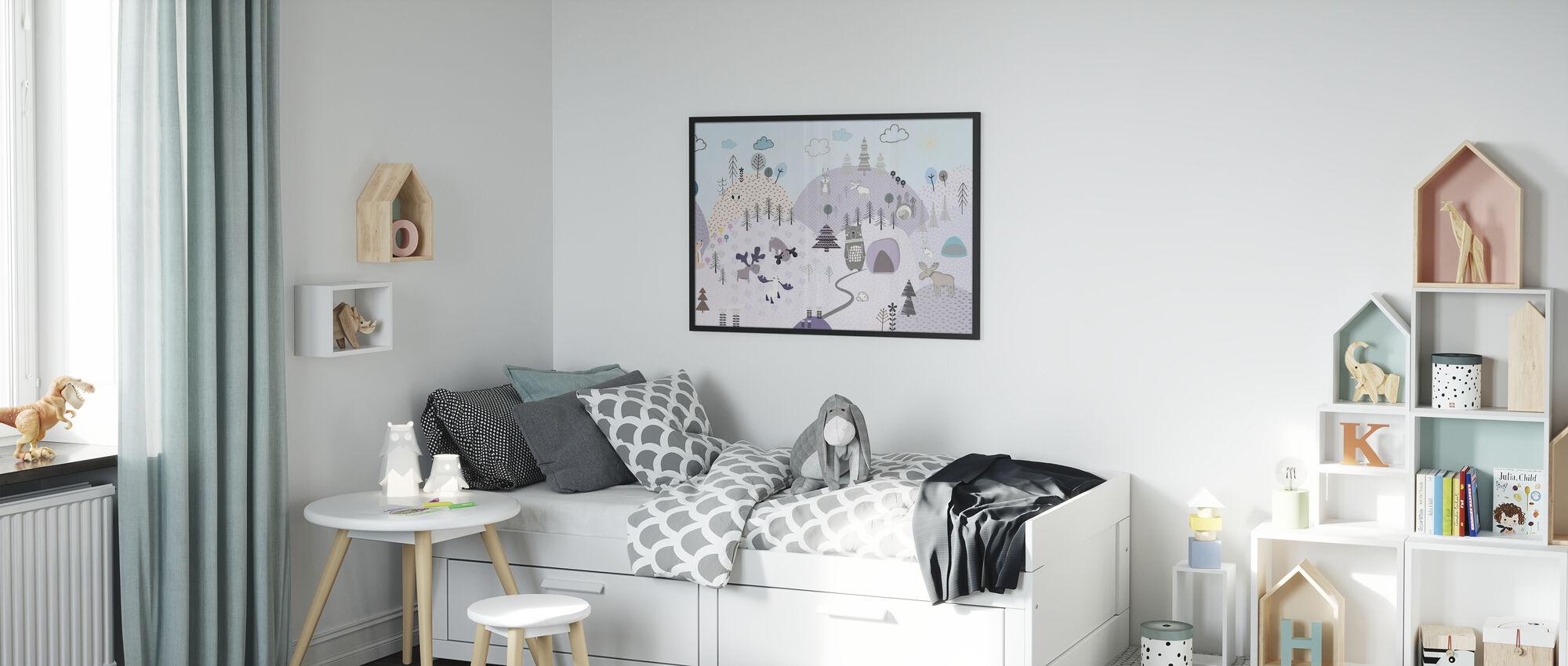 Animal Community VI - Poster - Kids Room