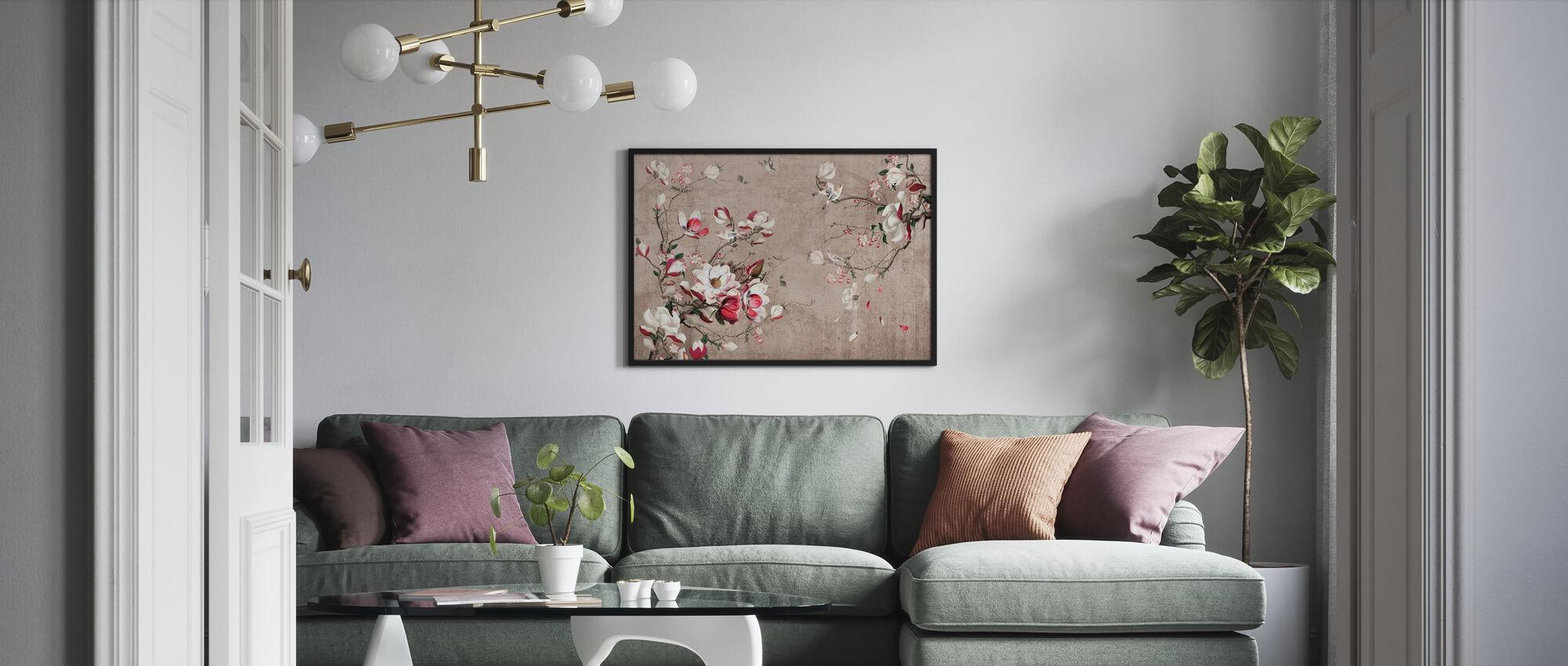 Flourish Botanical - Poster - Living Room
