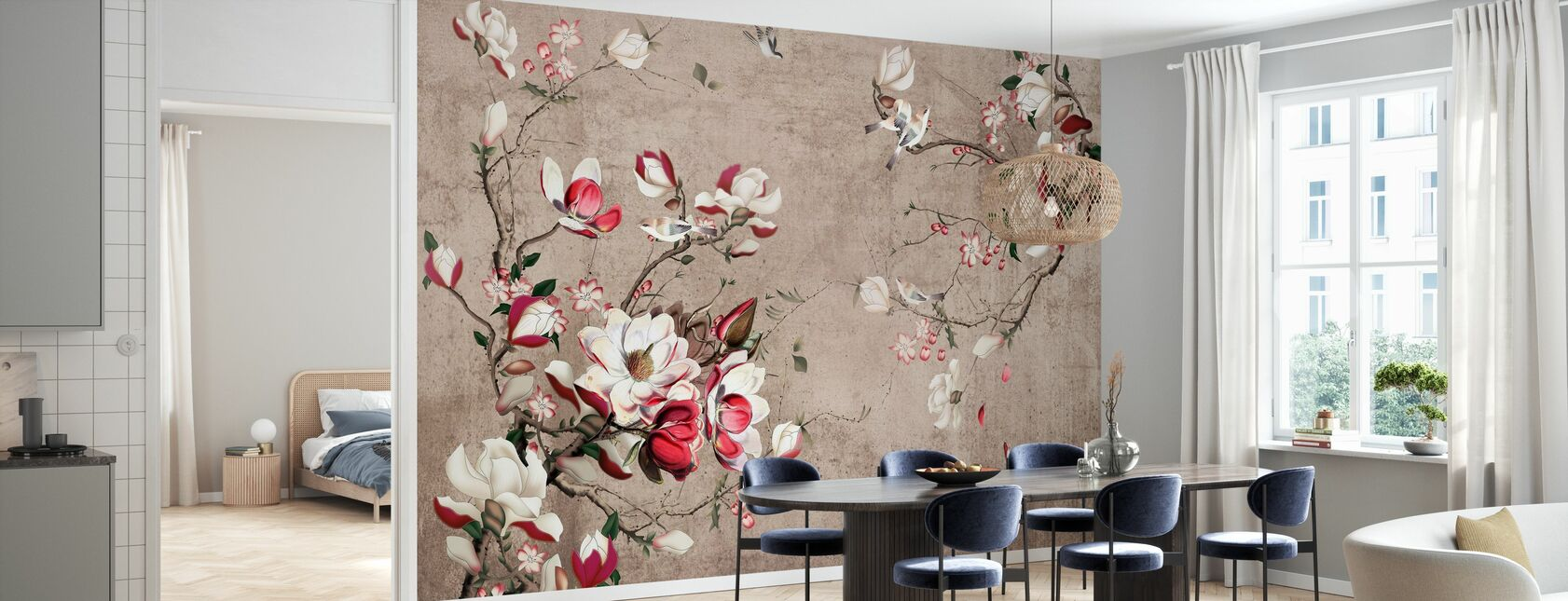 Flourish Botanical - Wallpaper - Kitchen