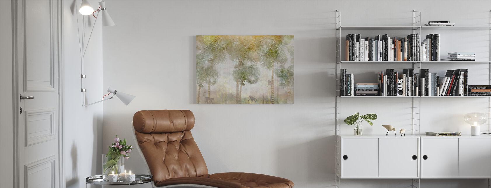 Apen Residence II - Canvas print - Woonkamer