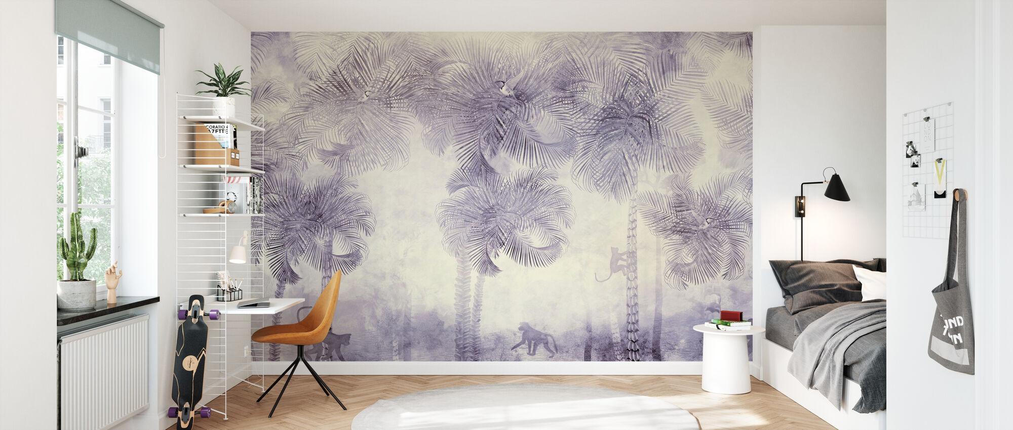 Monkeys Residence VIII - Wallpaper - Kids Room