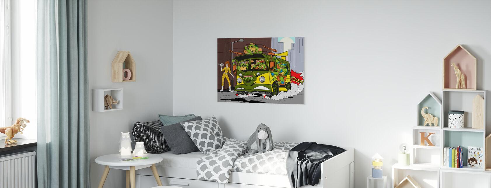 Wij runnen deze stad - Canvas print - Kinderkamer