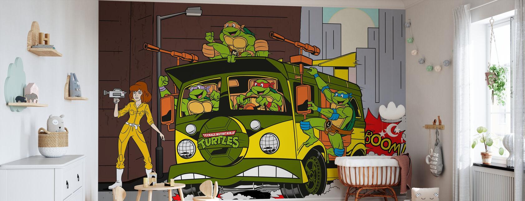 Vi kører denne by - Tapet - Babyværelse