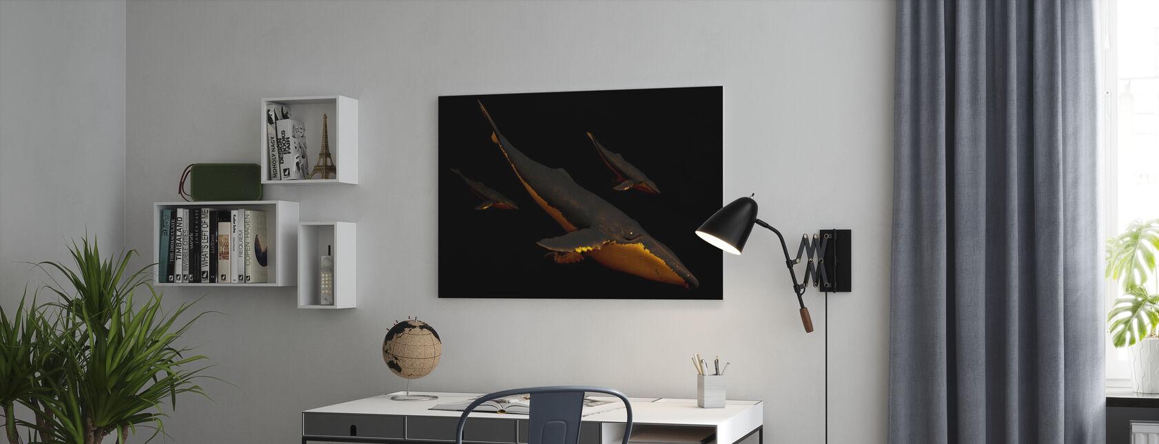 Bond III - SpaceFrogDesigns - Impression sur toile - Bureau
