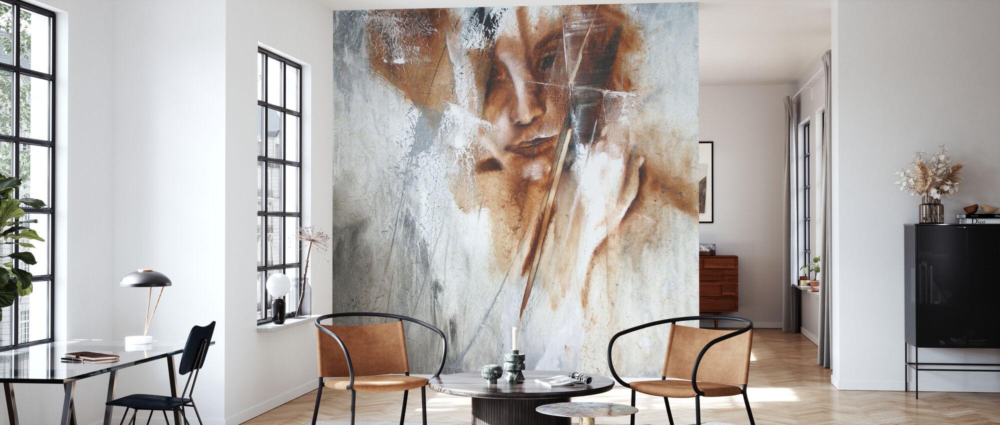 Hidden - Wallpaper - Living Room