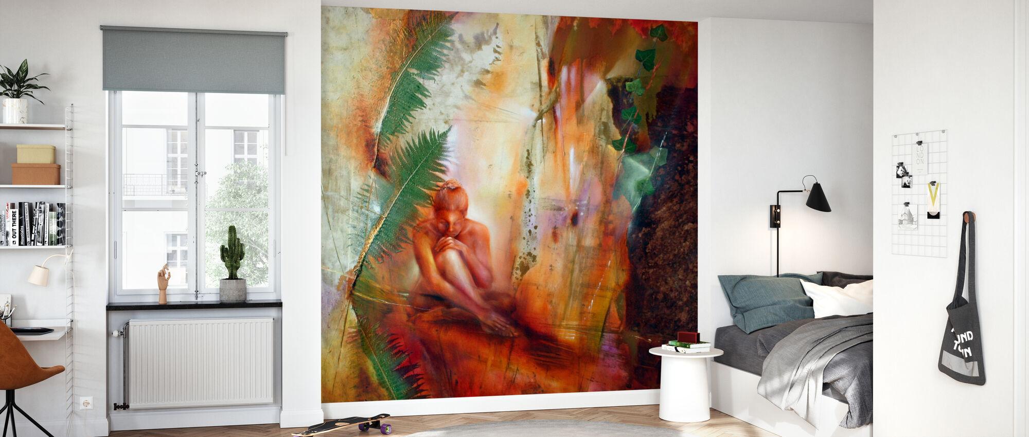 Lara - Wallpaper - Kids Room