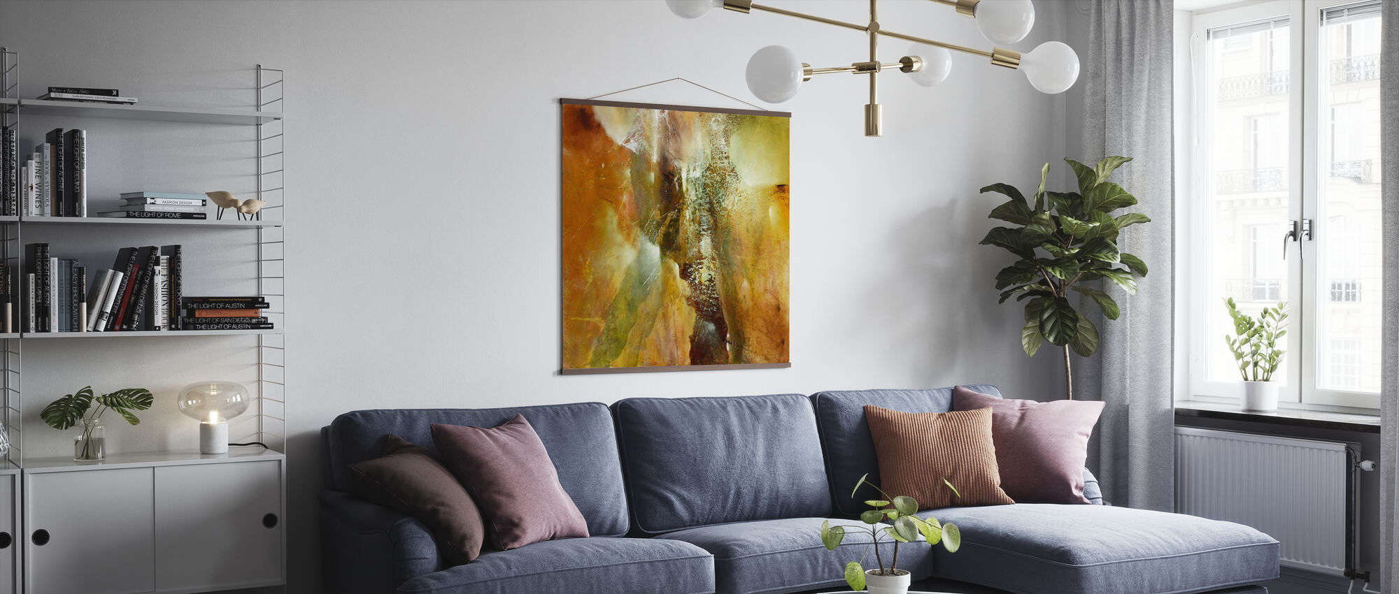 Abstract Composition - Poster - Living Room
