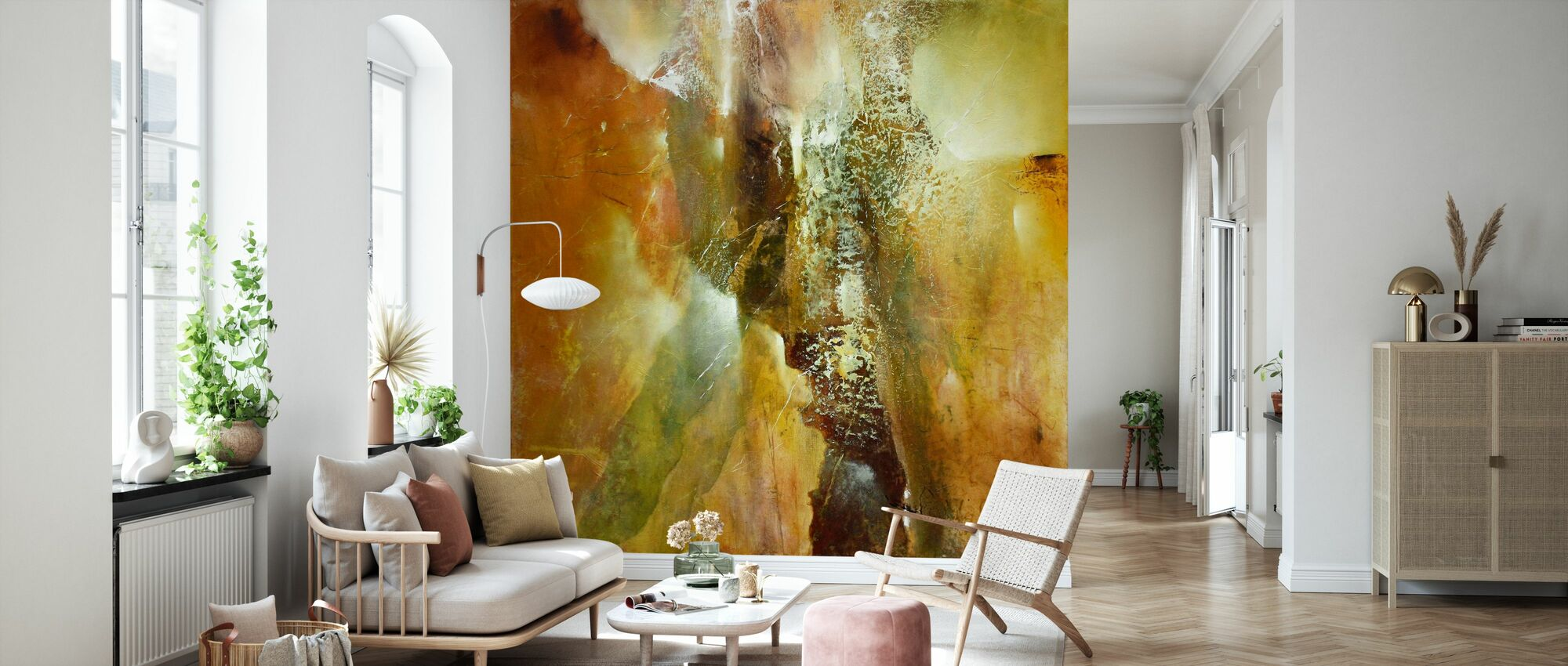 Abstract Composition - Wallpaper - Living Room