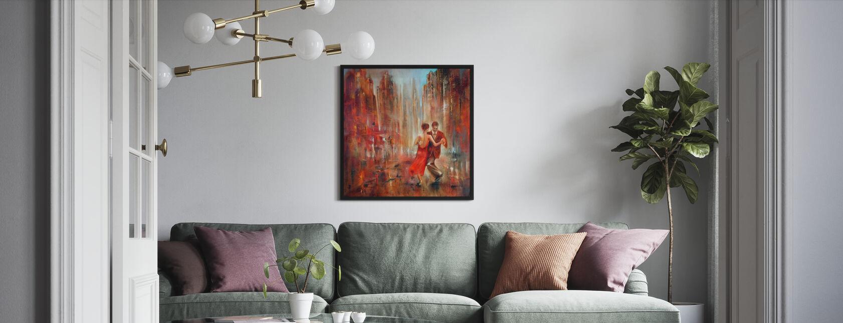 Tango - Inramad tavla - Vardagsrum