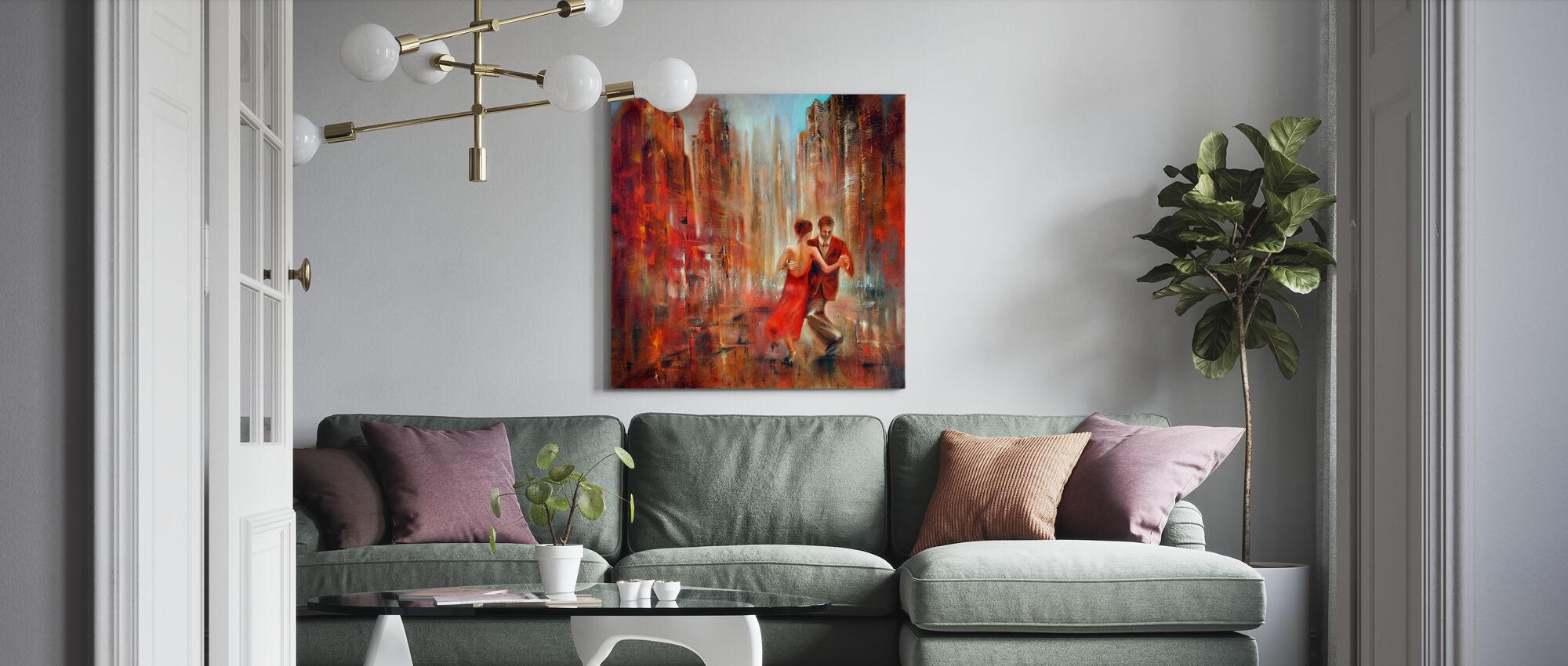 Tango - Canvas print - Living Room