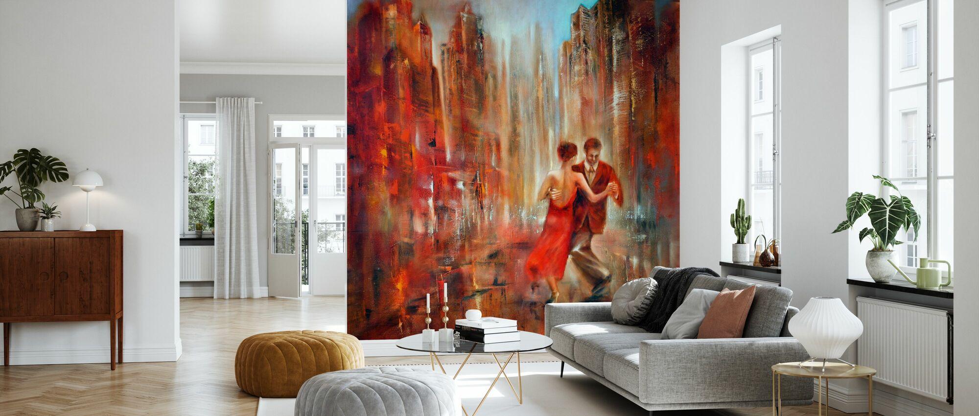 Tango - Wallpaper - Living Room