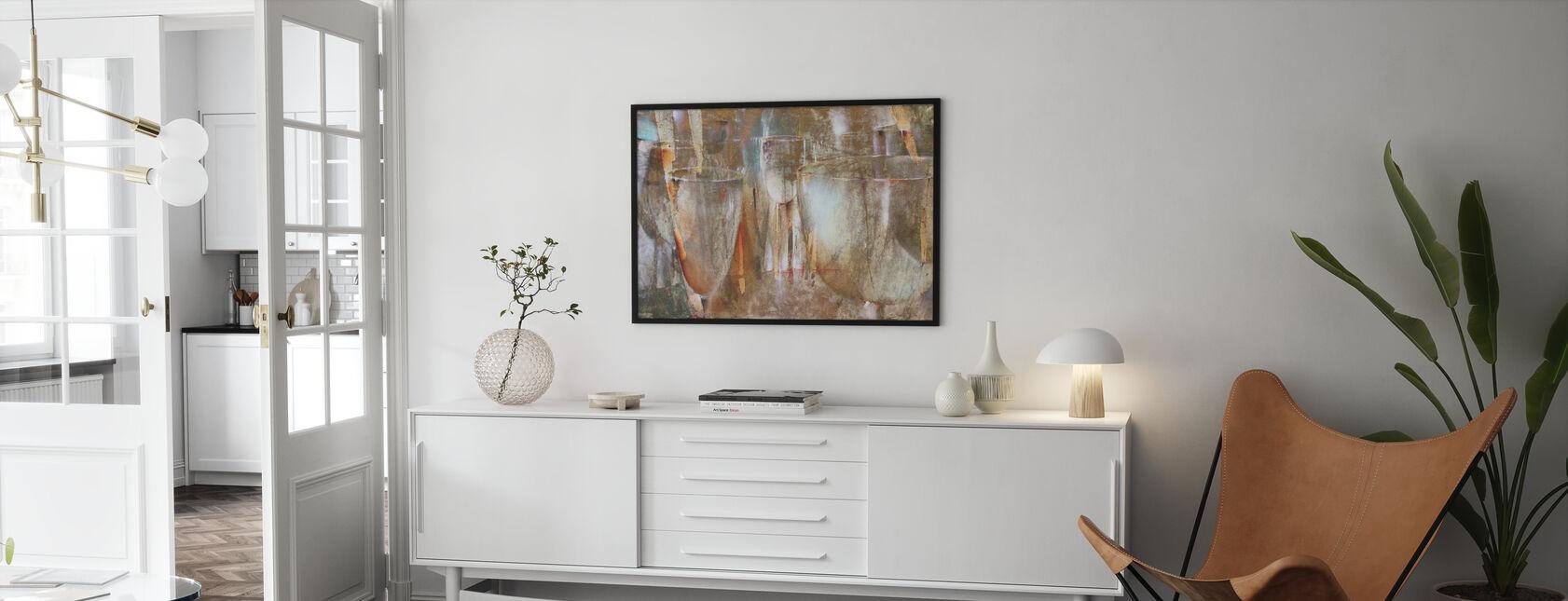 Light Show - Framed print - Living Room
