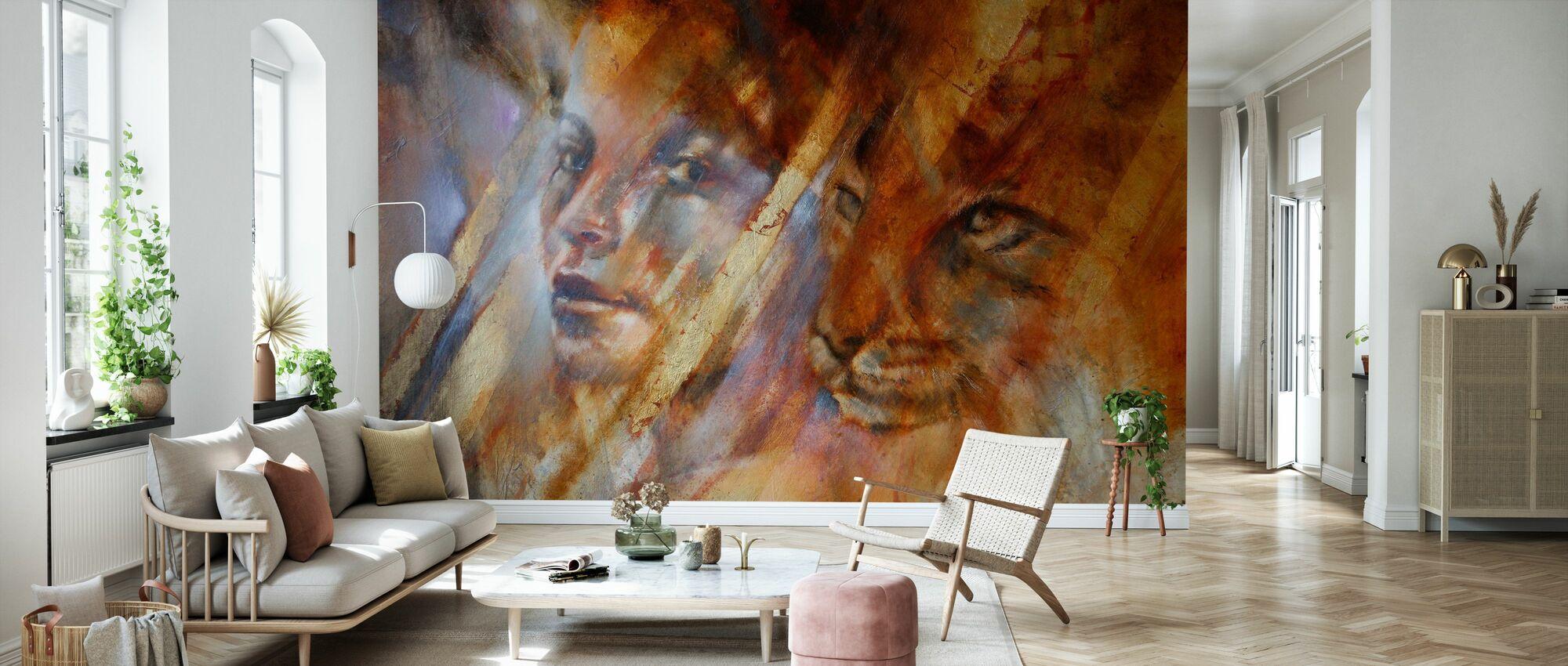 Cats - Wallpaper - Living Room