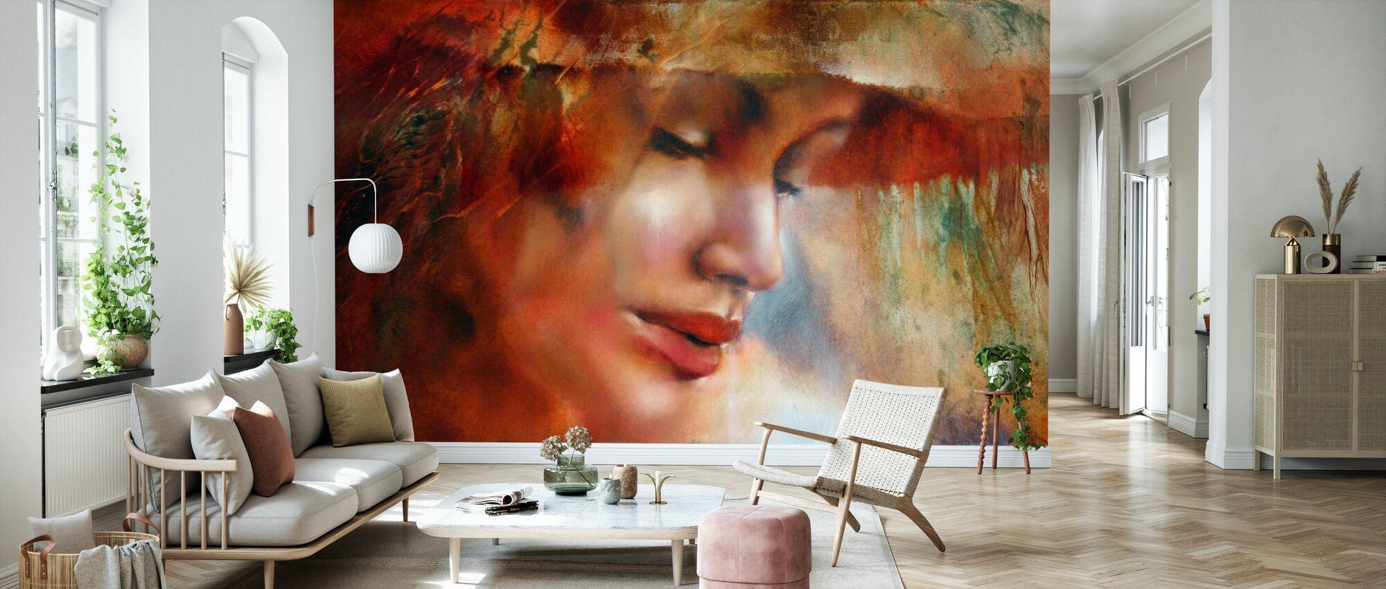 Ricarda - Wallpaper - Living Room