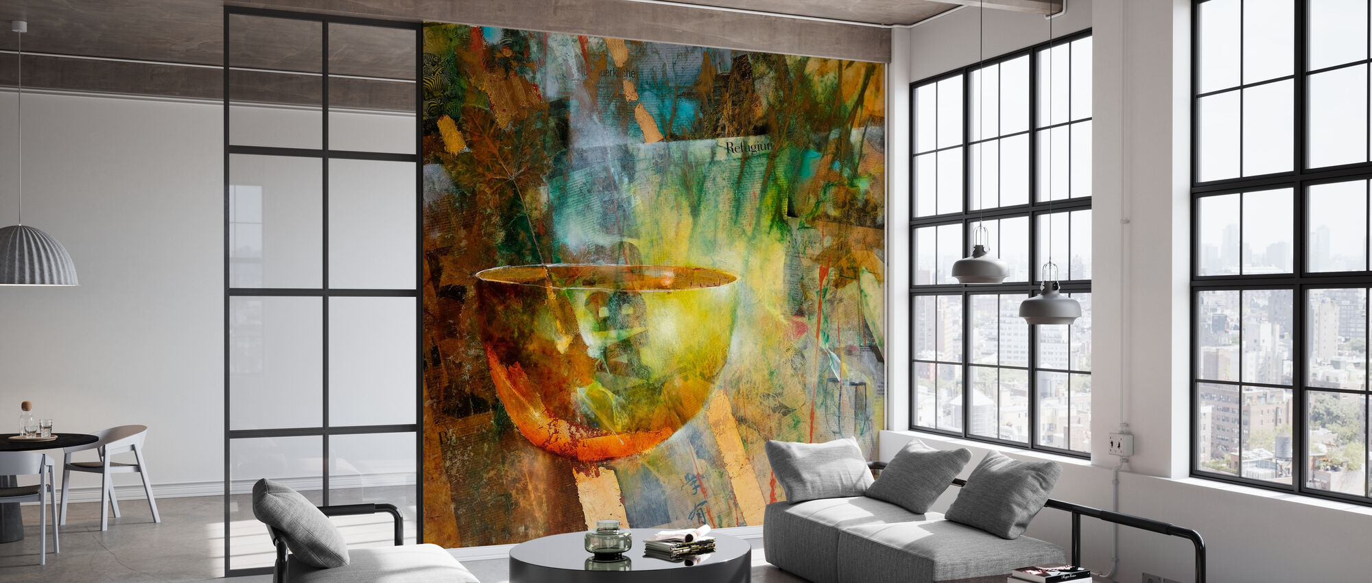Refugium - Wallpaper - Office