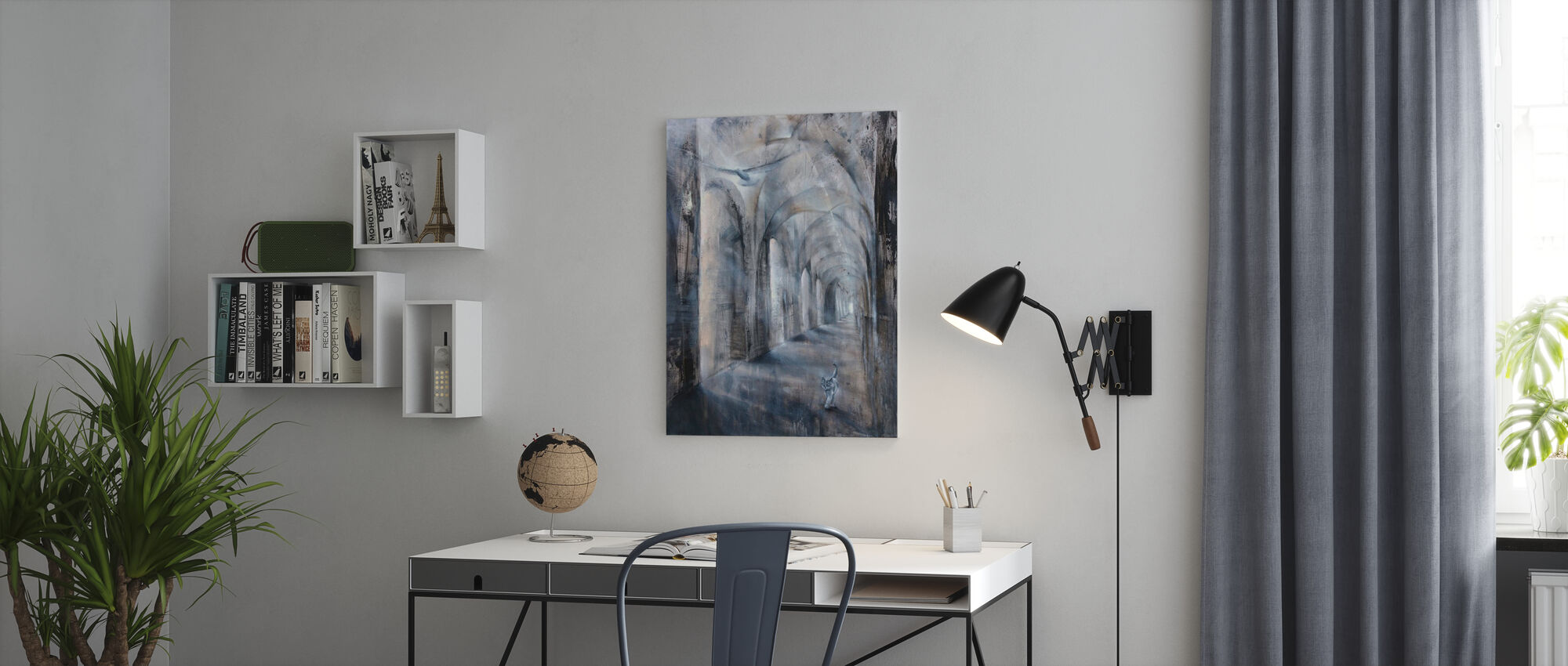 Light and Shadow - Canvas print - Office