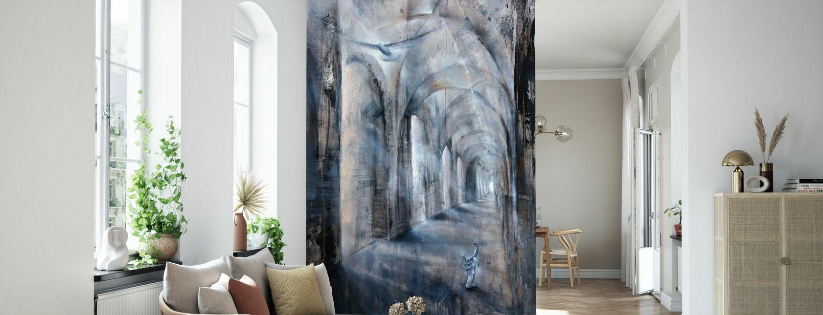 Ljus och skugga - Tapet - Vardagsrum