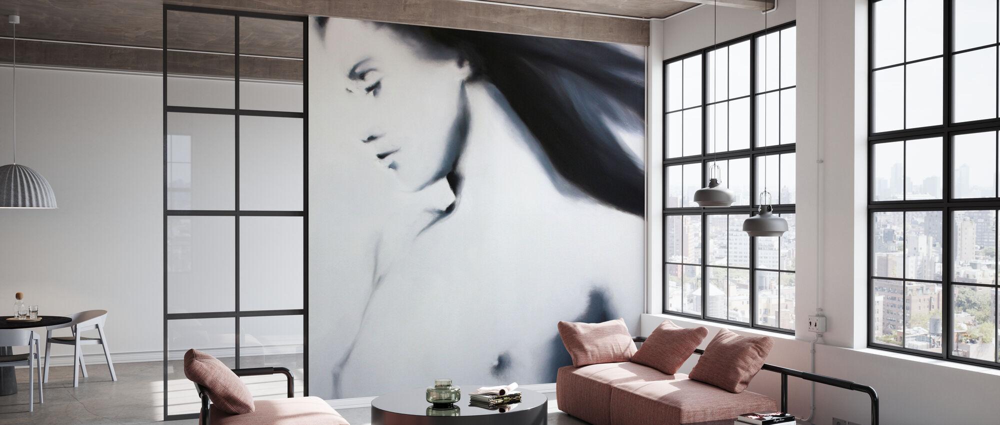 Karla Black and White - Wallpaper - Office