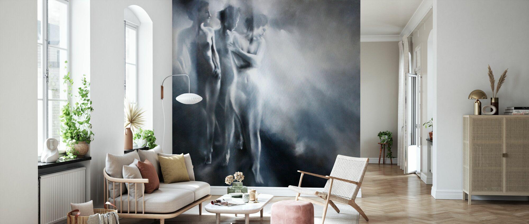 Karla Karla and Karla - Wallpaper - Living Room