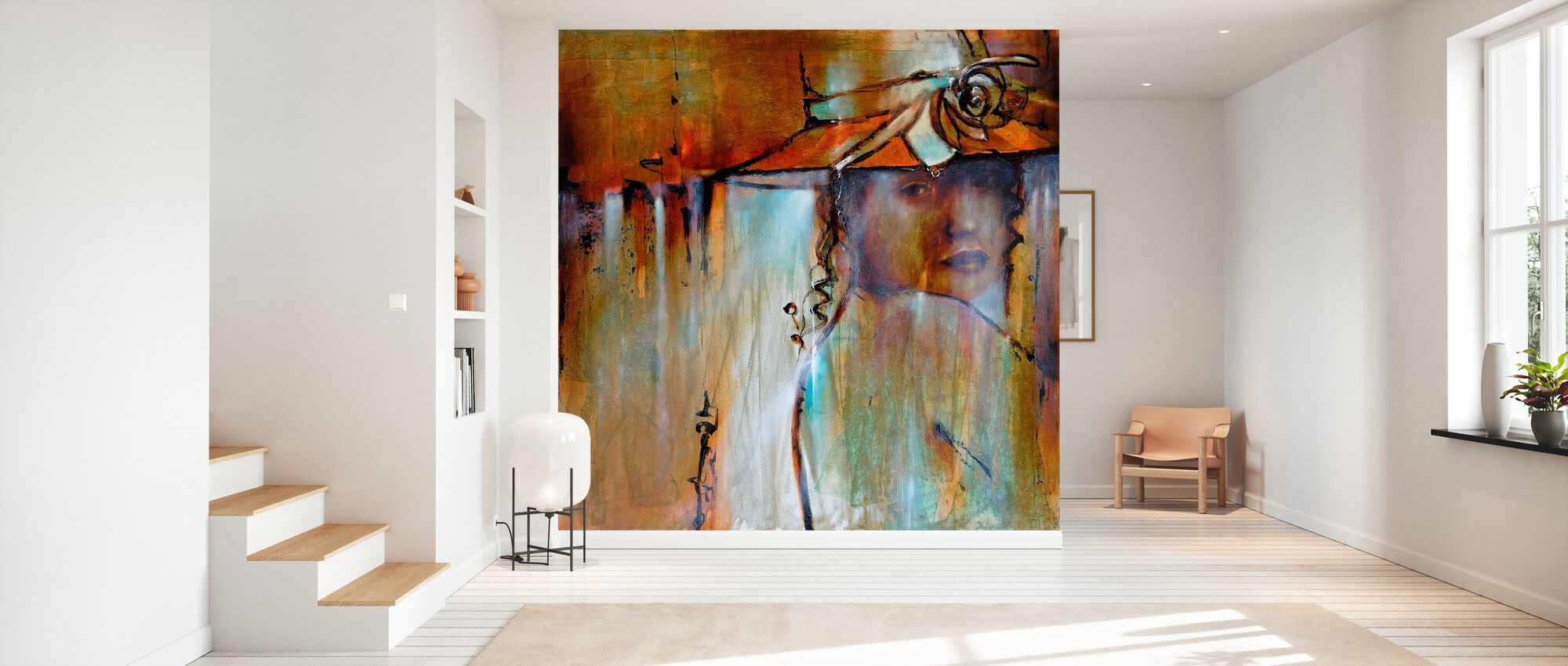 Elena with Hut - Wallpaper - Hallway
