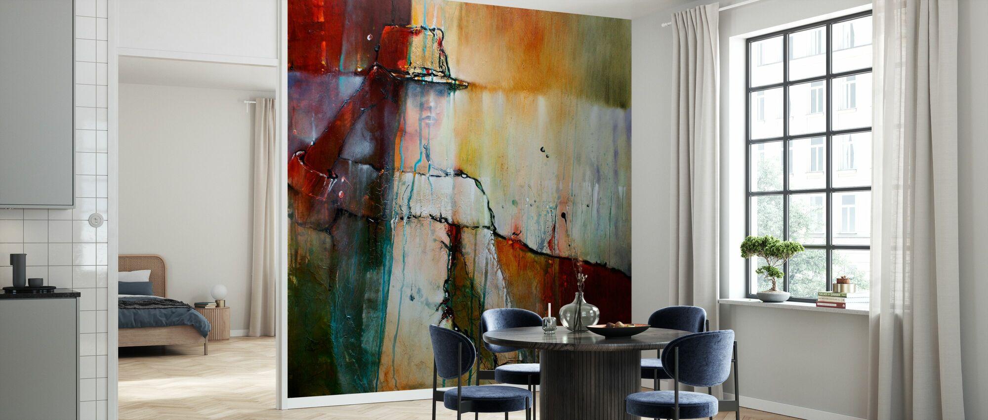 Elena with Hut II - Wallpaper - Kitchen