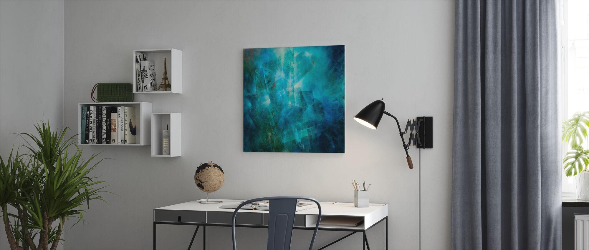 Emerald II - Canvas print - Office