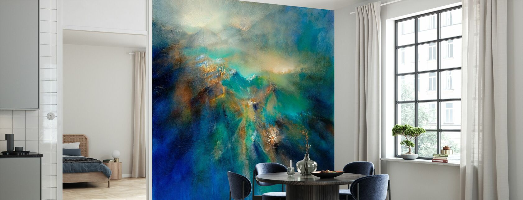 Above all Peaks - Wallpaper - Kitchen