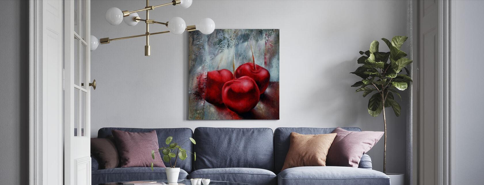 Kersen - Canvas print - Woonkamer
