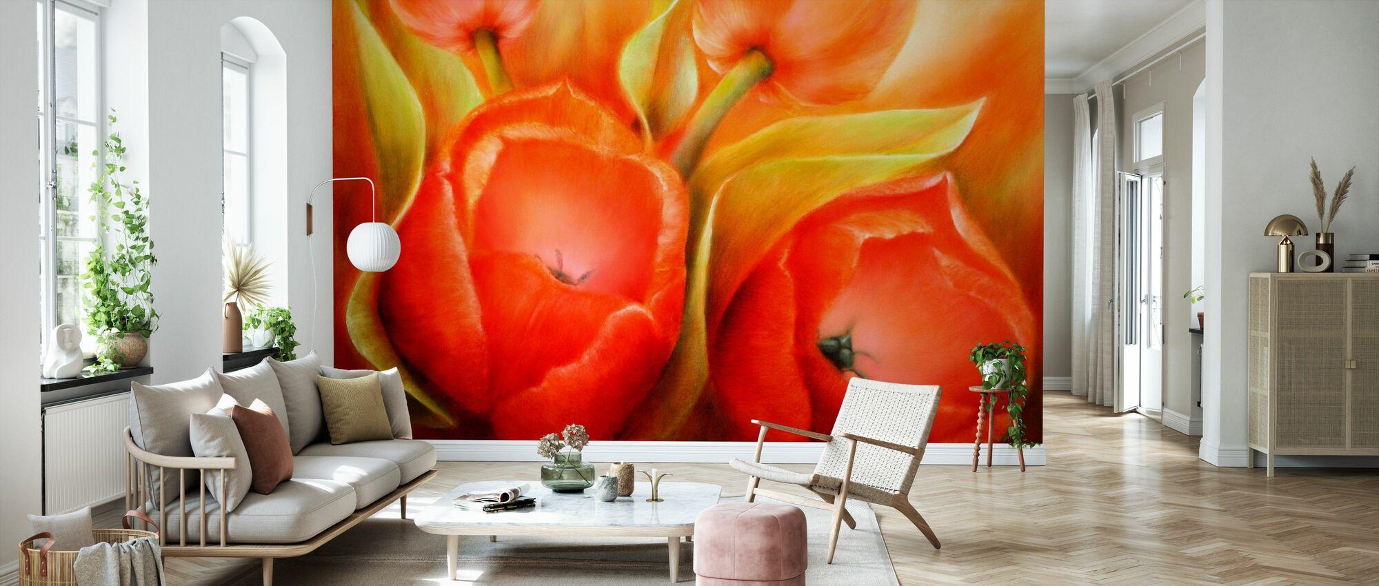 Finally Spring Again - Wallpaper - Living Room