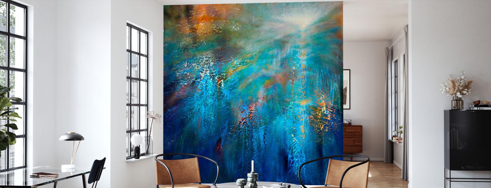 En annan blå morgon - Tapet - Vardagsrum