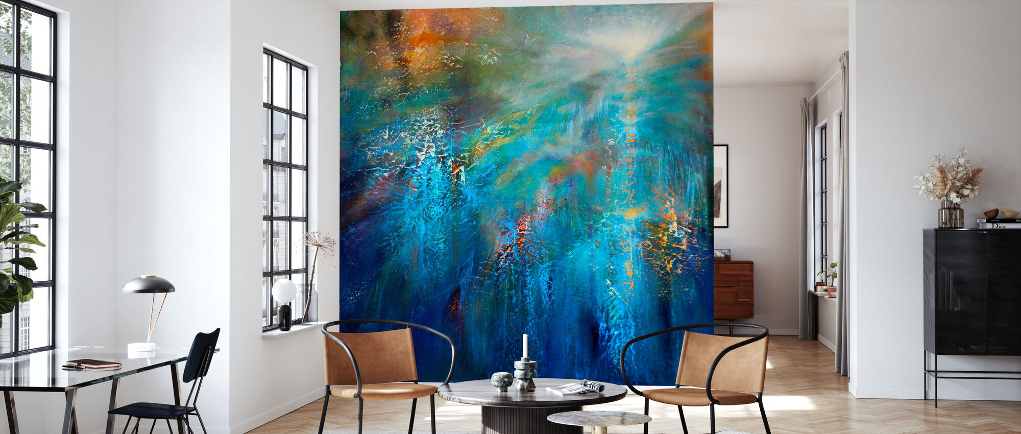 Another Blue Morning - Wallpaper - Living Room