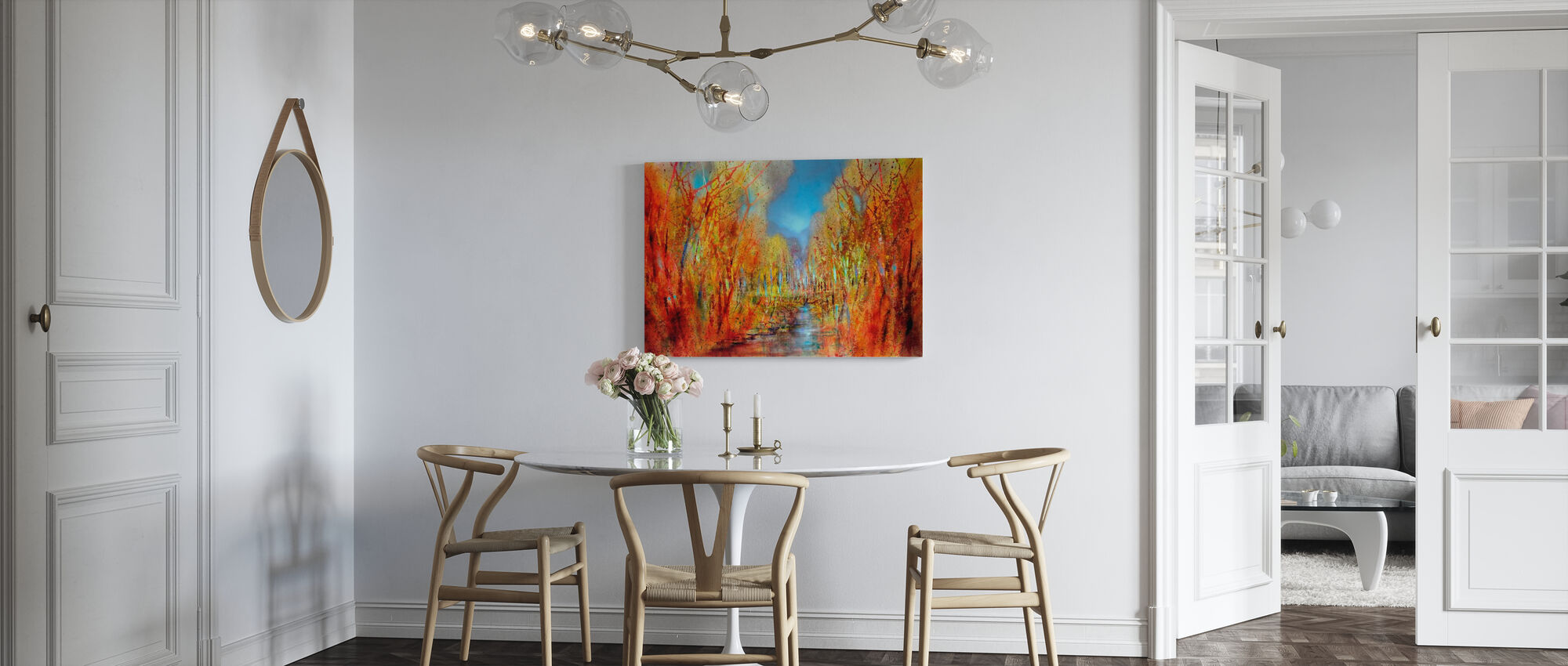 Forests are Colorful - Canvas print - Kitchen