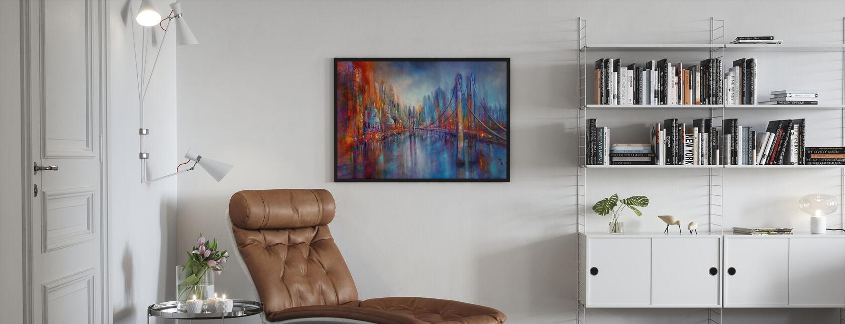 On Road - Framed print - Living Room