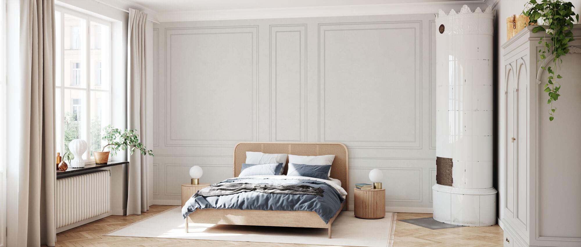 Voguish Wall Panel - Beige - Wallpaper - Bedroom